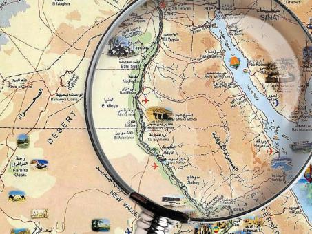 Jak Egipt długi i szeroki