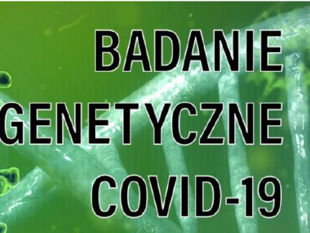 Badanie genetyczne przeciwko COVID-19
