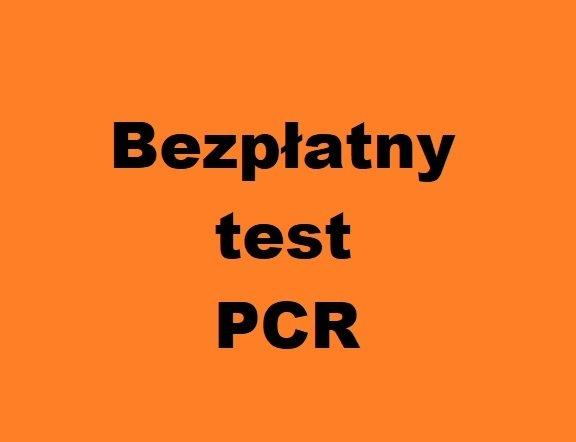 Bezpłatny test PCR